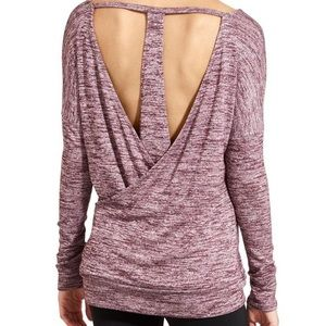 Athleta Pose Layered Long Sleeve top